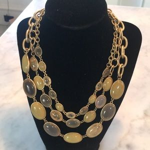 Beautiful NWT talbots triple strand necklace
